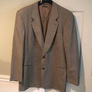 Giorgio Armani Single Breasted Wool & Silk Blazer
